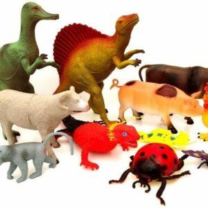 Plastics animals