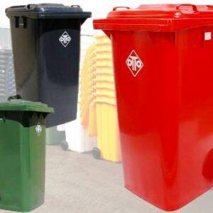 240lt Mobile refuse wheelie bin